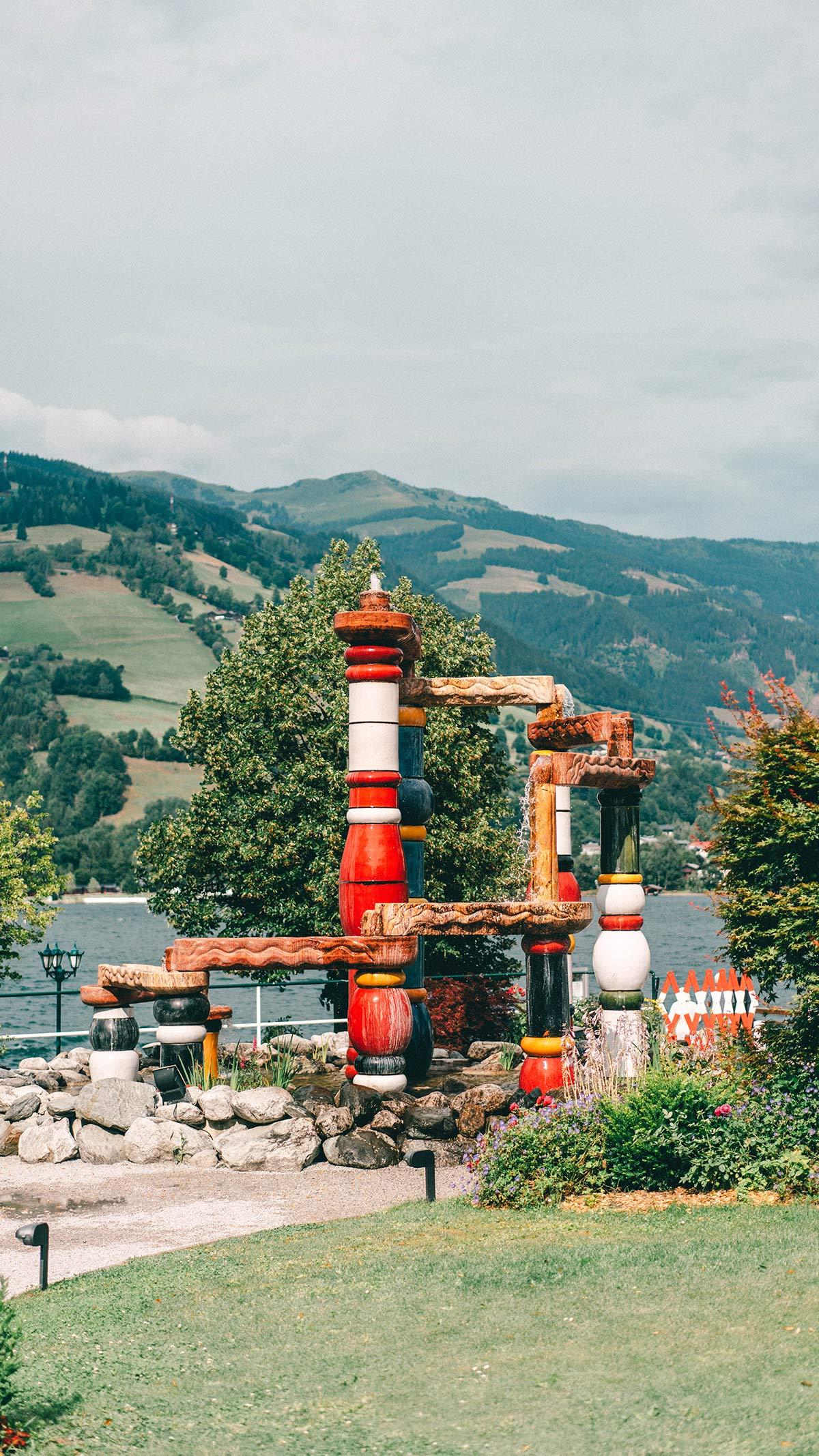 Hundertwasserbrunnen Zell am See