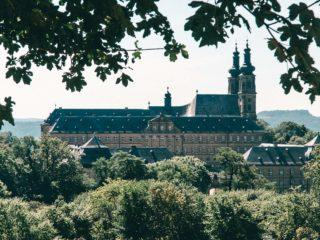 Kloster Banz Ausblick Christine