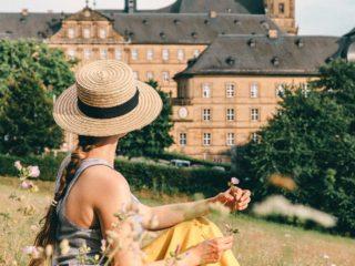 Kloster Banz Wiese Christine