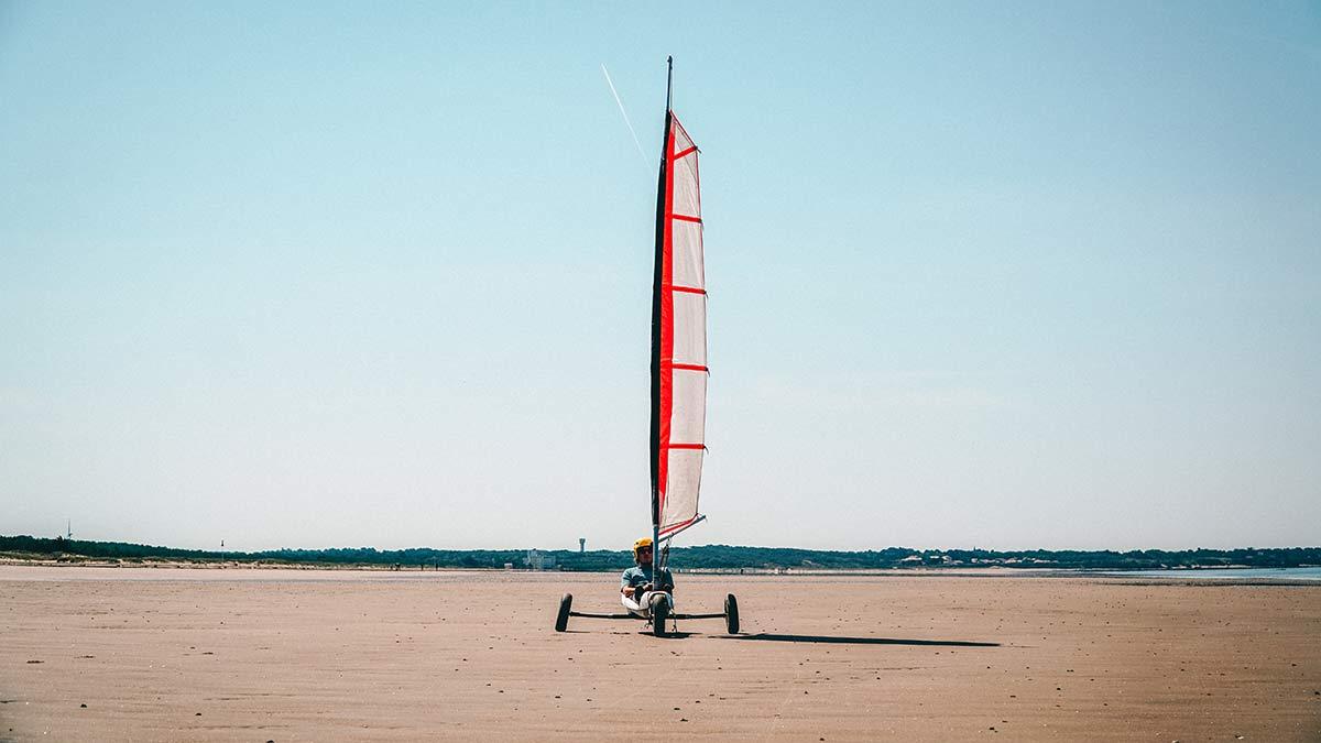 Loire Atlantique Strandbuggy fahren