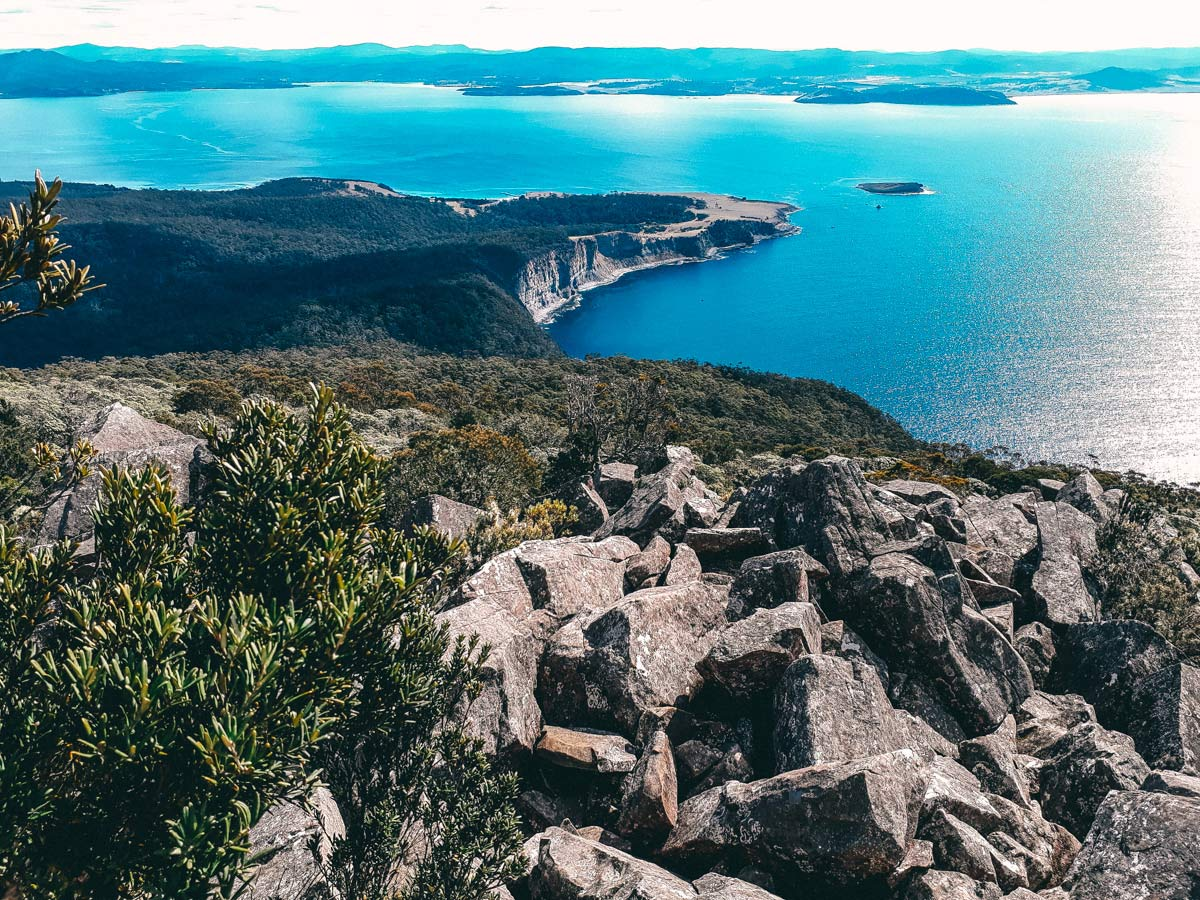 Maria Island in Tasmanien