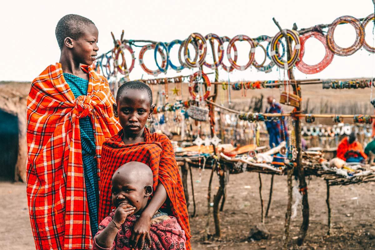 Massai in Tansania