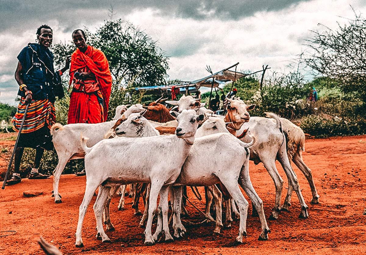 Massai Ngorongoro Nationalparks