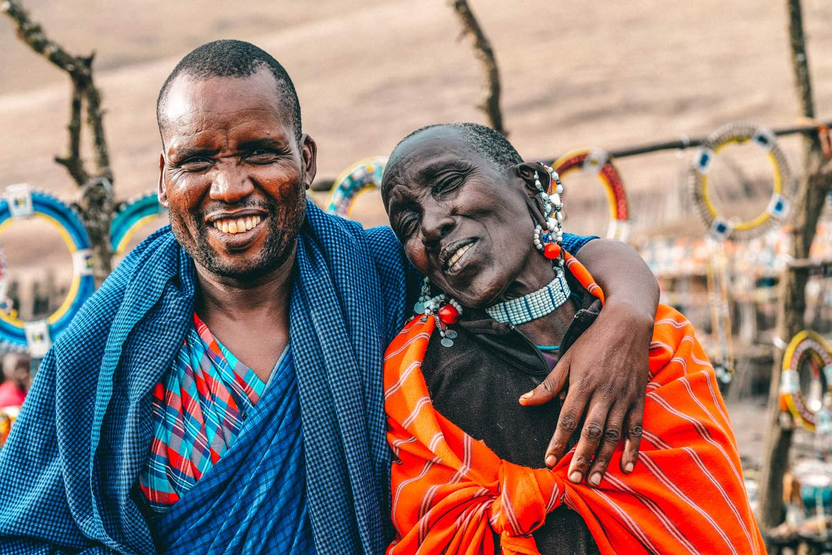 Massai Tansania Roadtrip