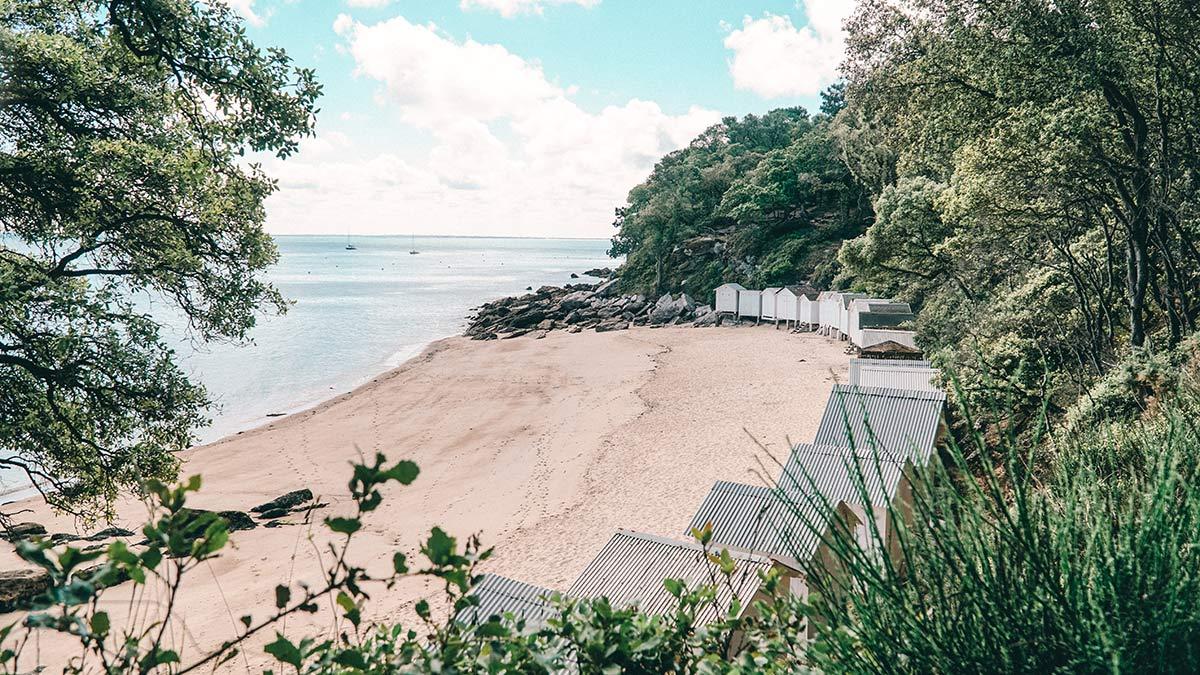 Noirmoutier Plage de Anse Rouge