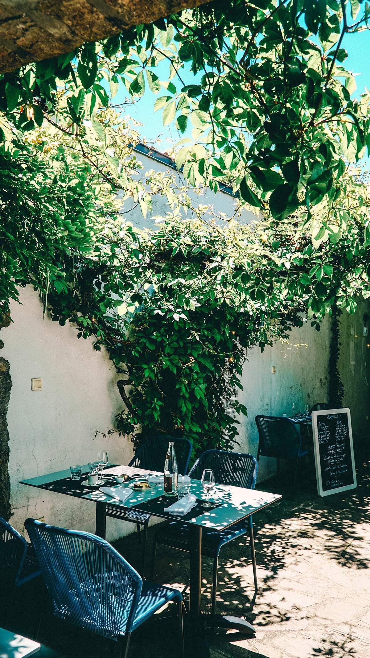 Noirmoutier Restaurant Elise Garten