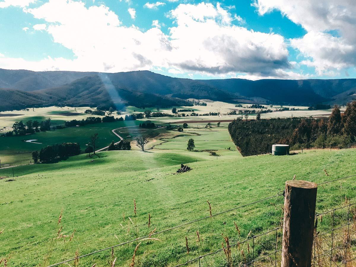 Nordosten Tasmanien