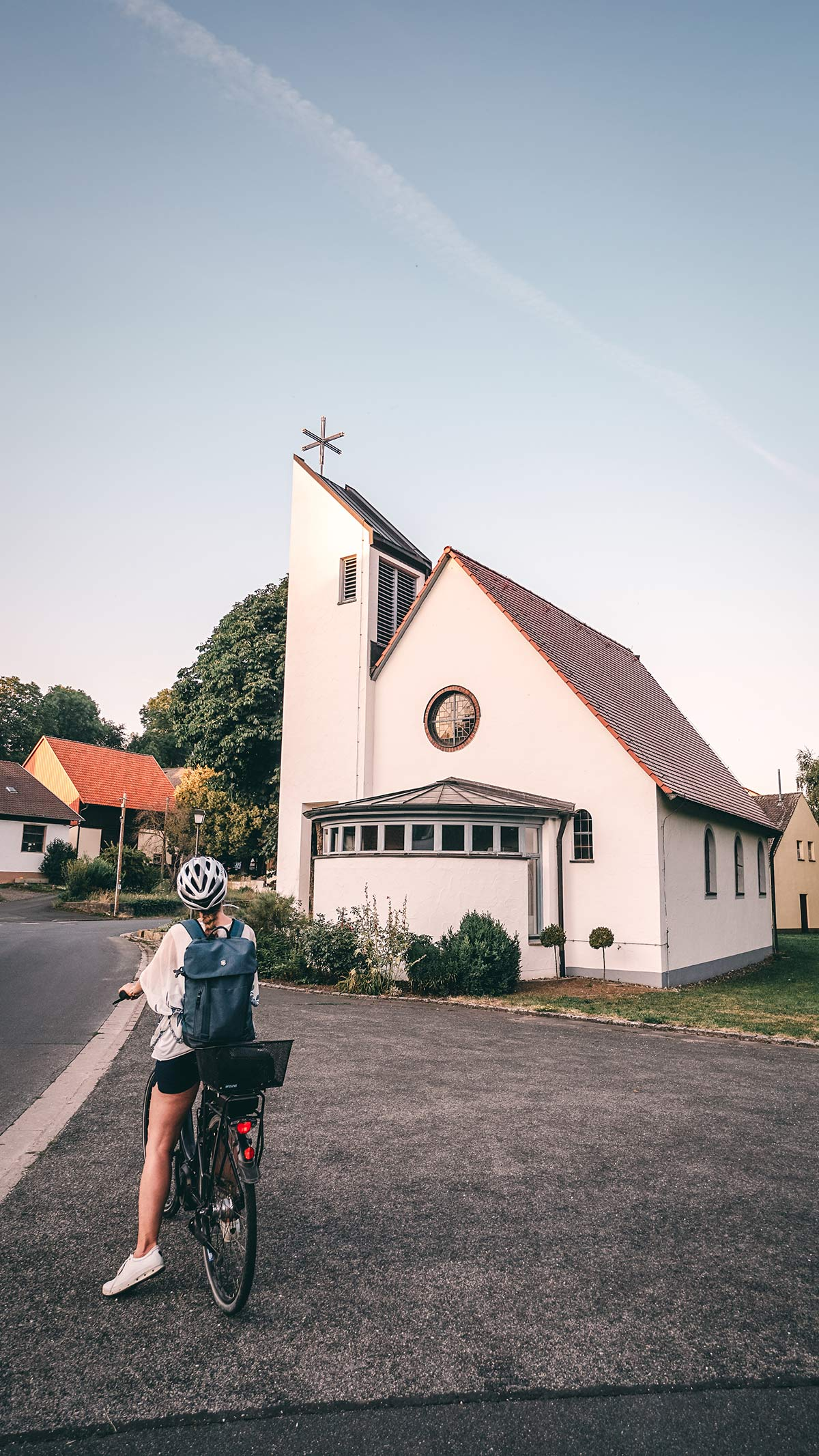Radtour Nedensdorf Kirche