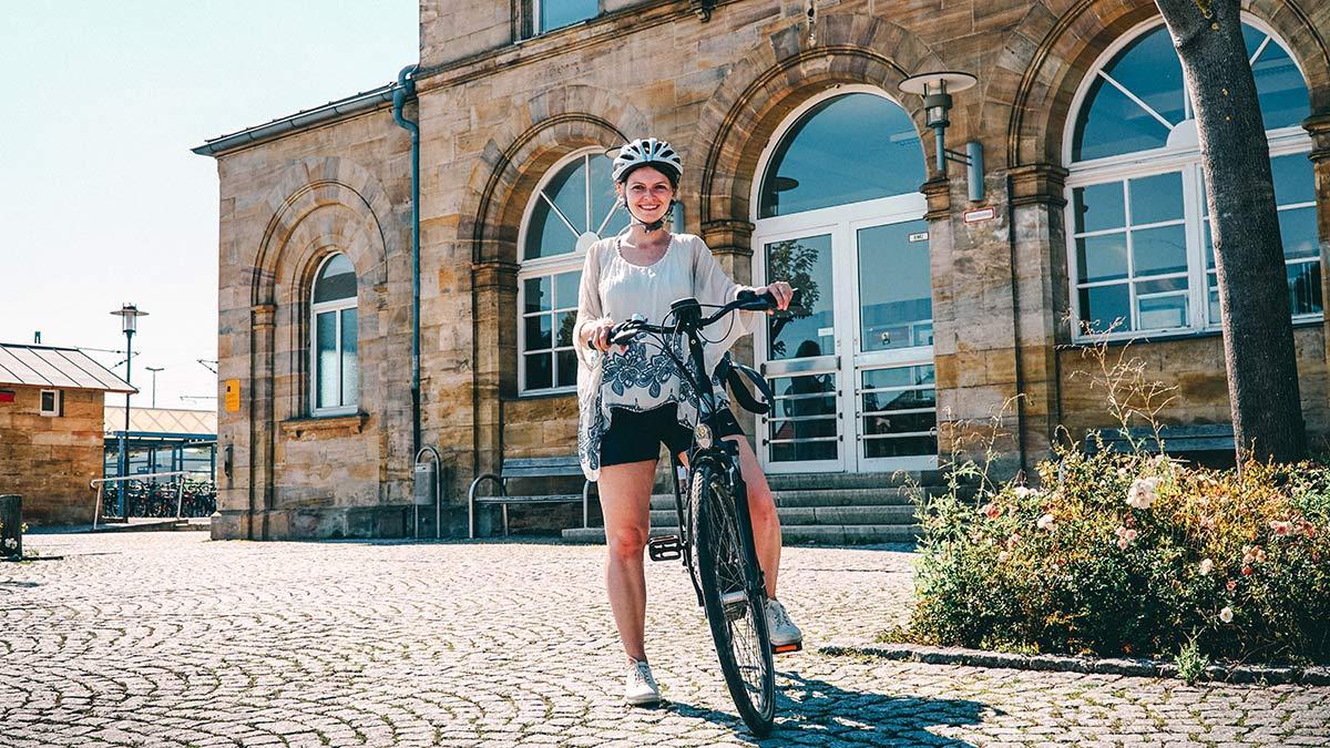 Radtour Start Bahnhof