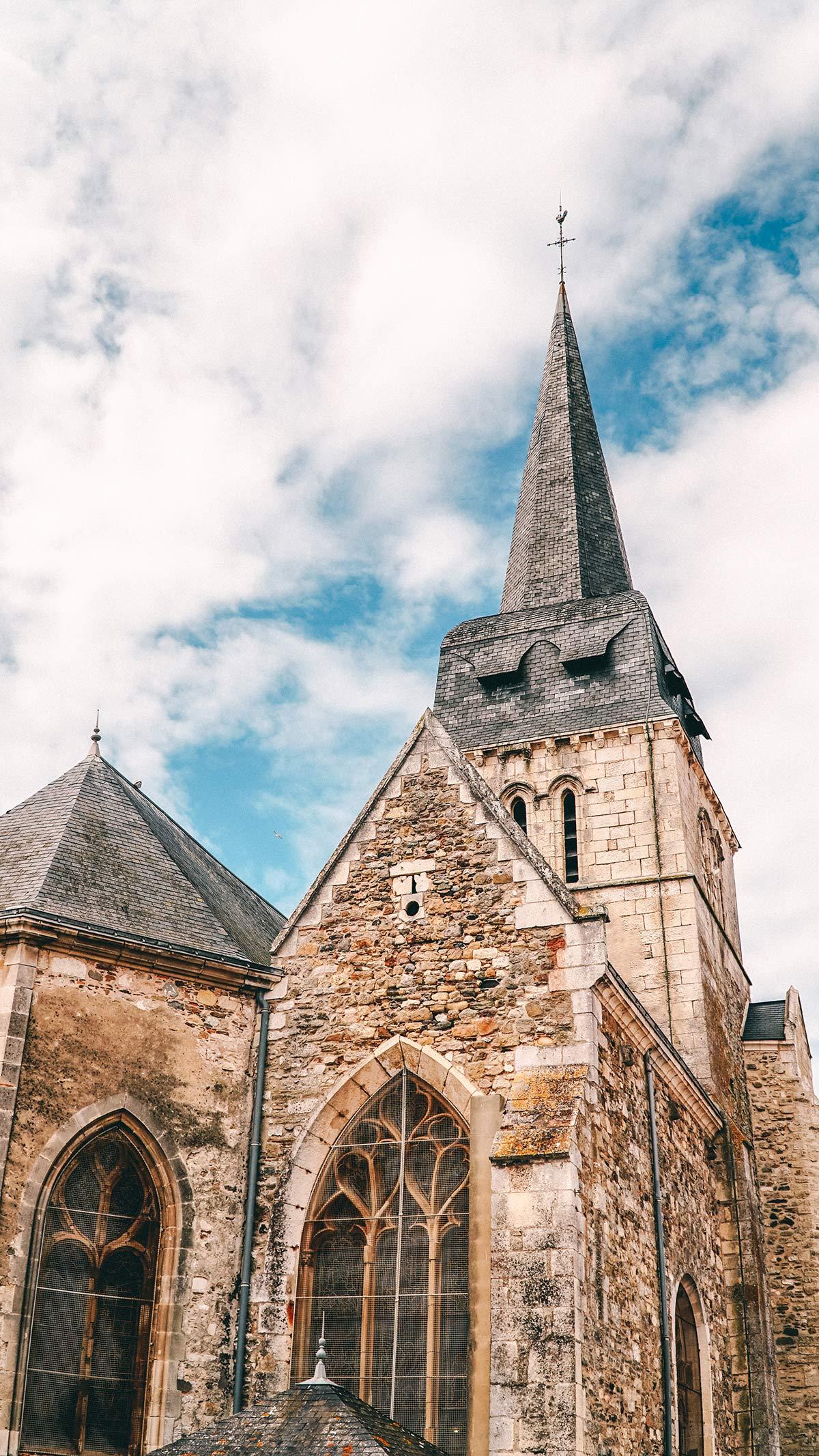 Saint Gilles Kirchturm