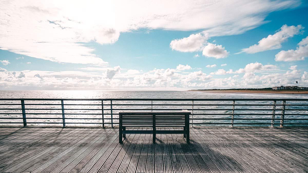 Saint Jean Ufer Strand Promenade