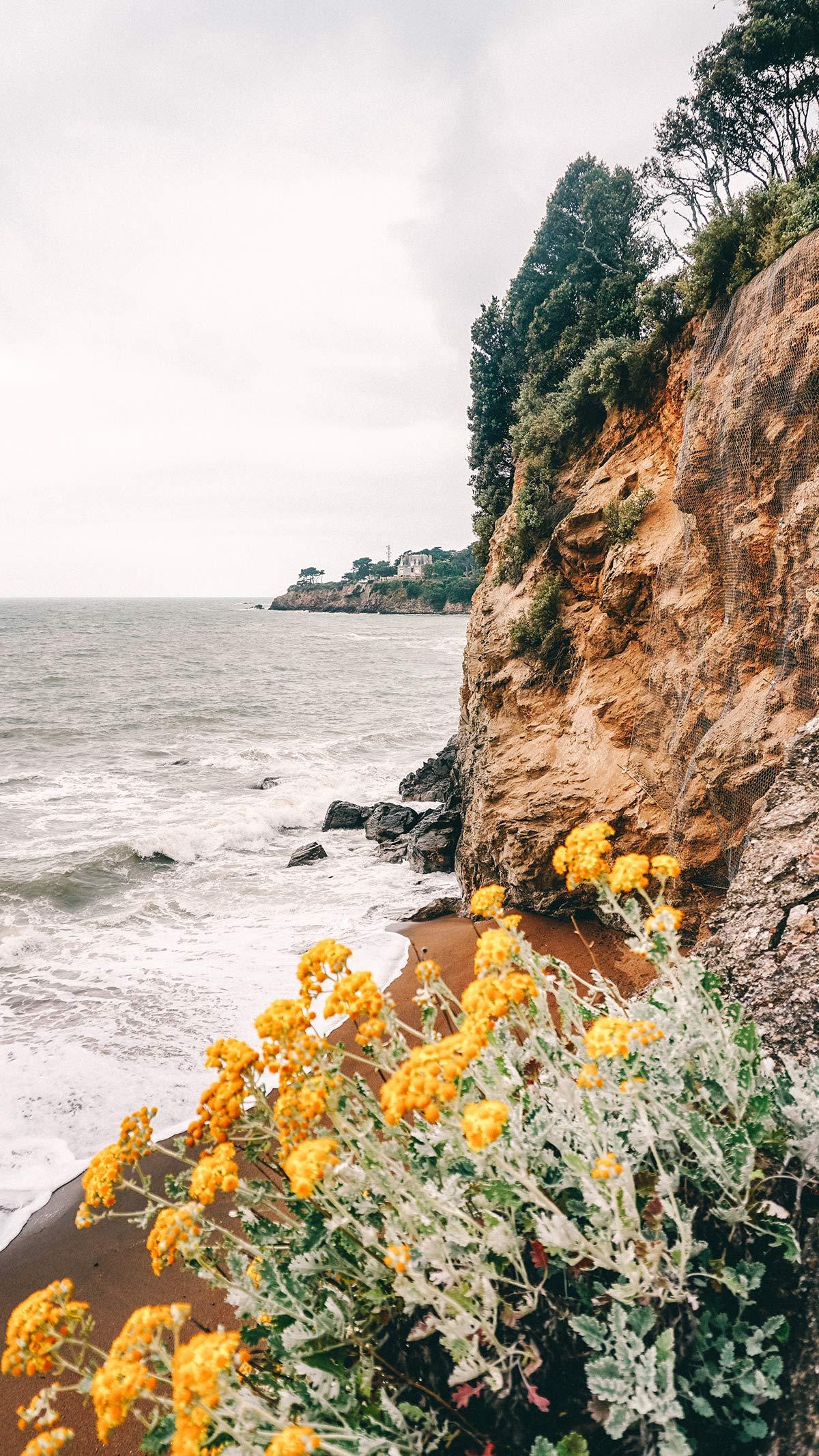 Saint Nazaire wilder Strand