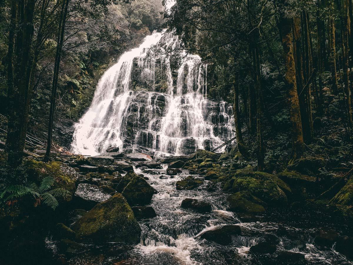 Wasserfaelle in Tasmanien