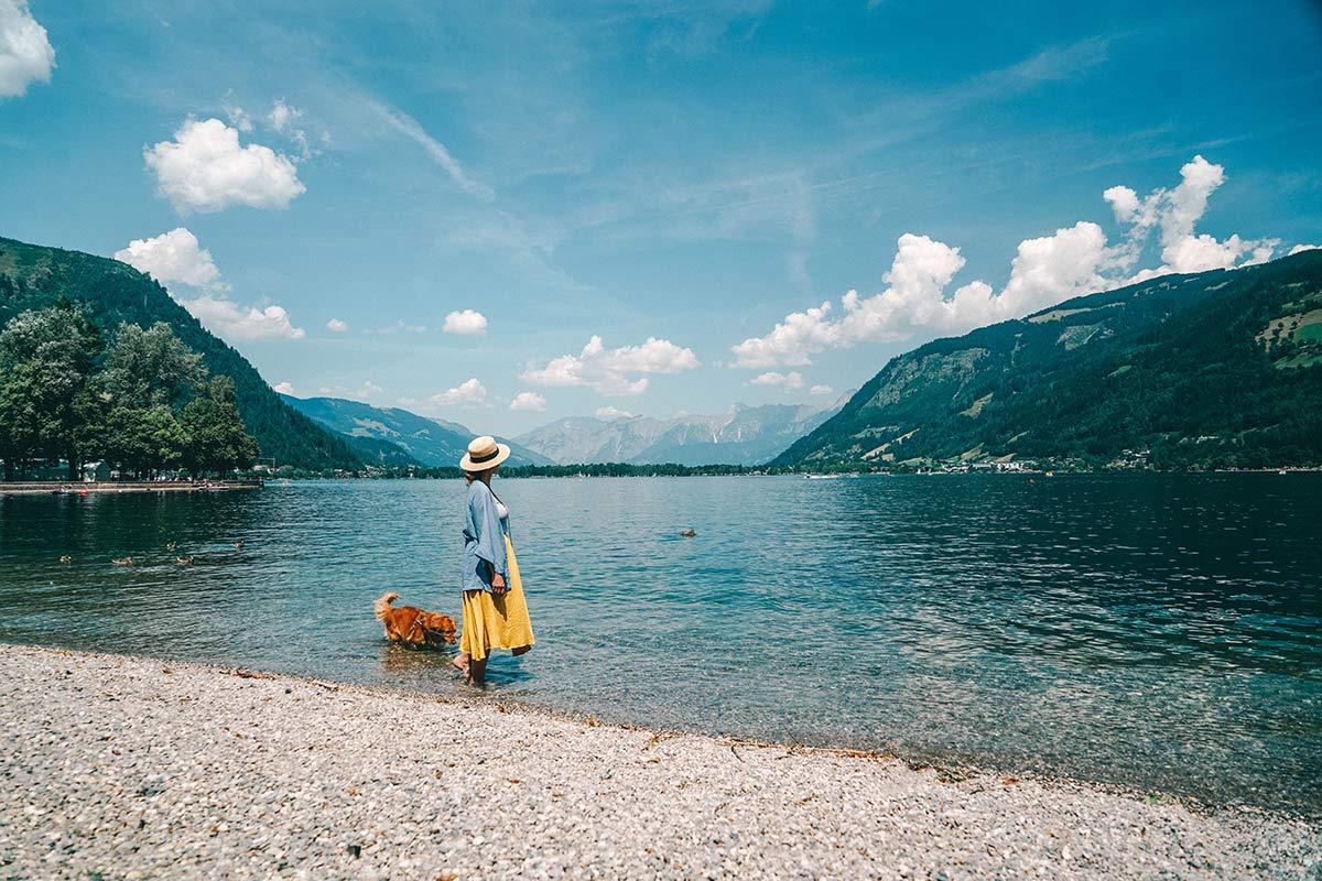 österreich sehenswürdigkeiten Christine Neder im See