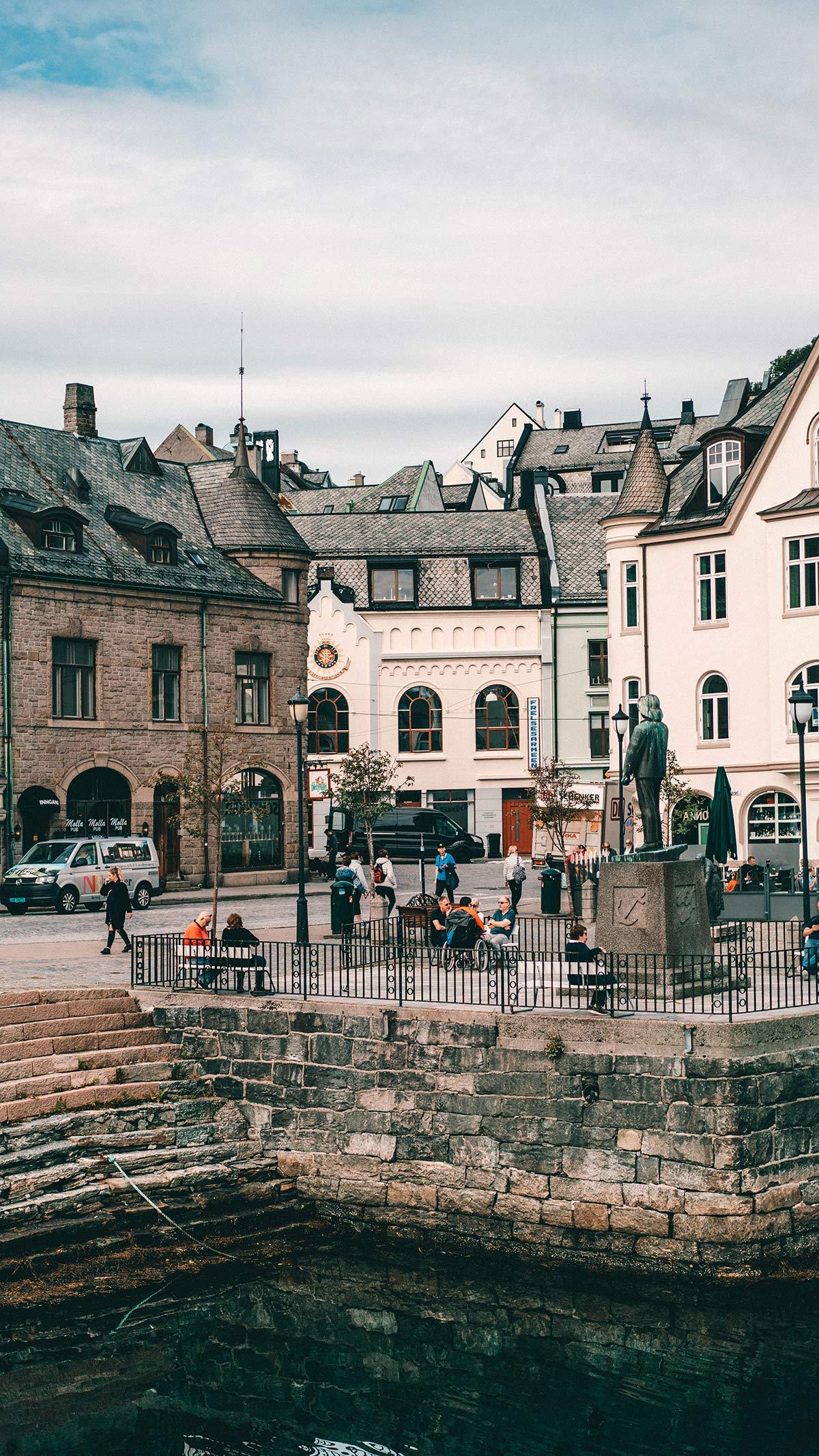 Alesund Innenstadt