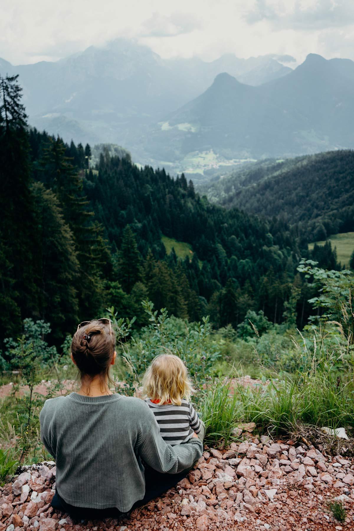 Blick ins Tal Lofer