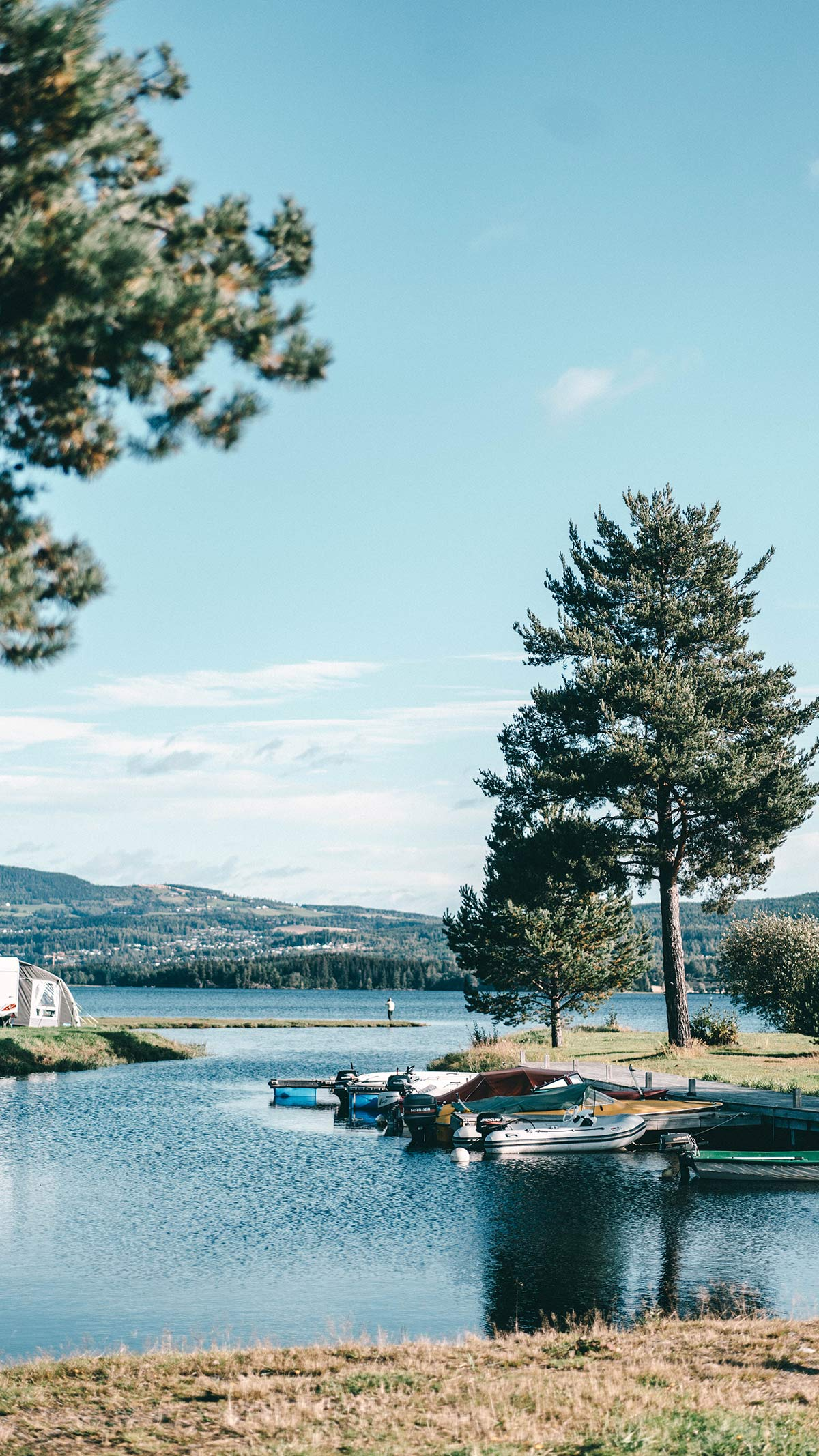 Campingplatz Sveastranda Norwegen