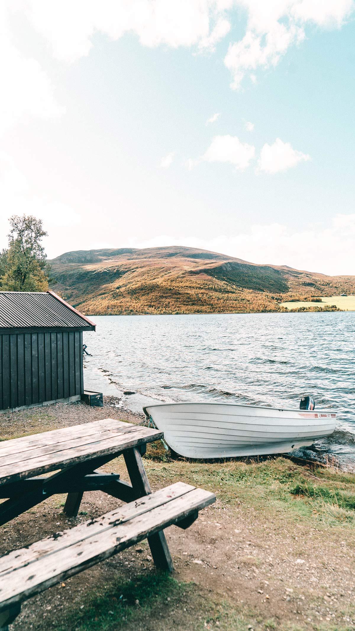 Rastplatz Norwegen