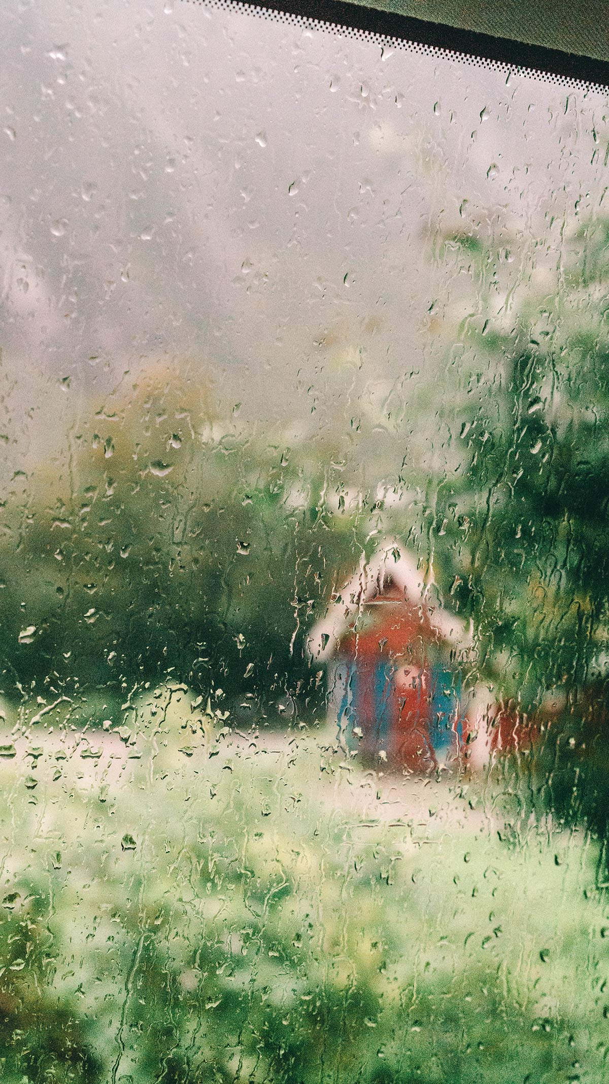 Regen Norwegen