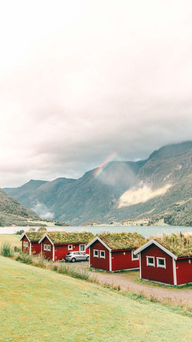 Regenbogen Norwegen