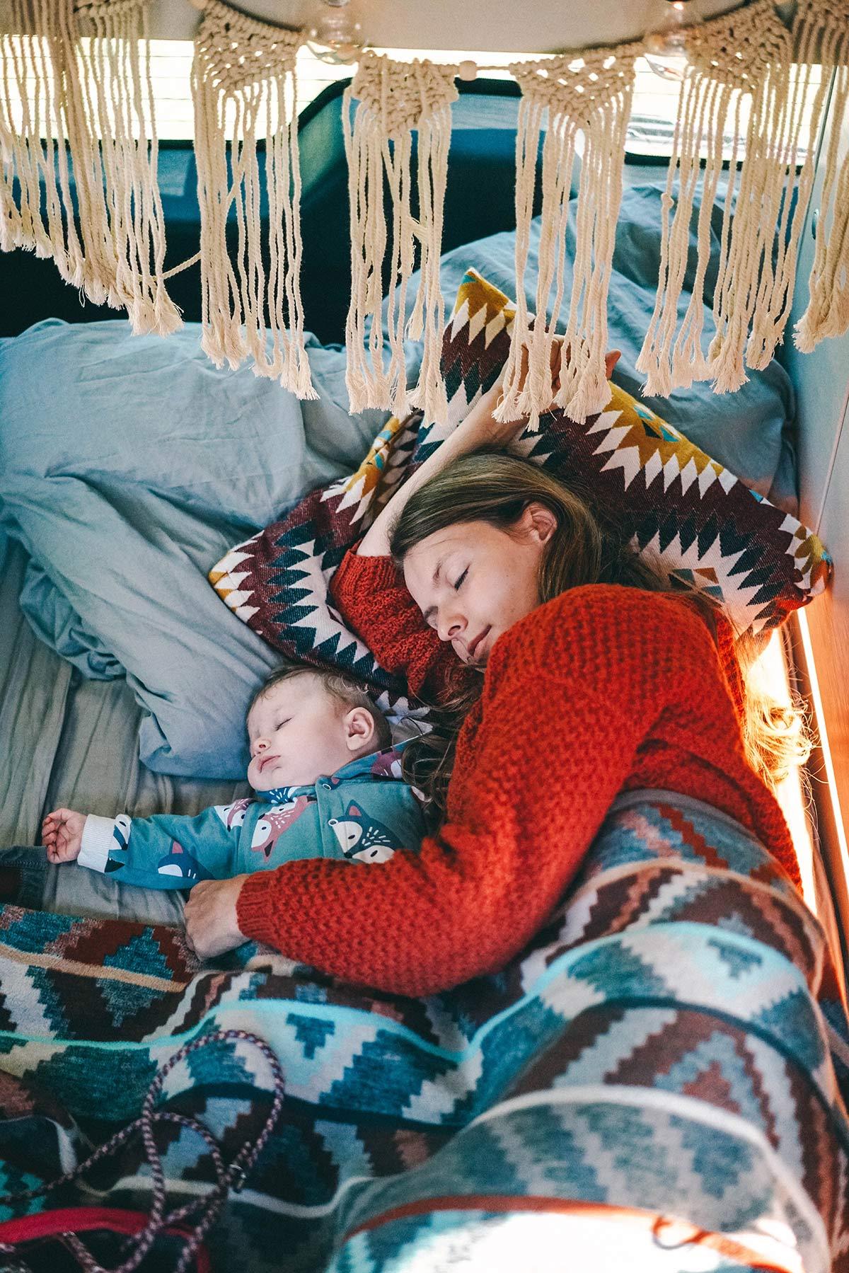 Schlafplatz Camper