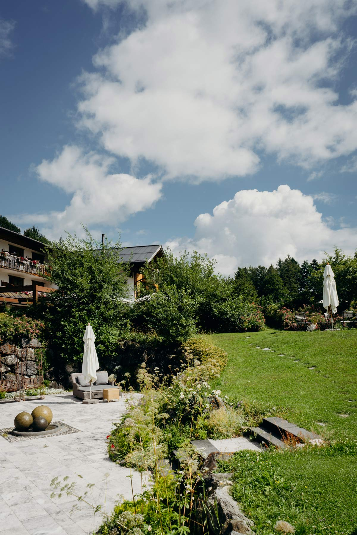 Terrasse Schlossanger Alp