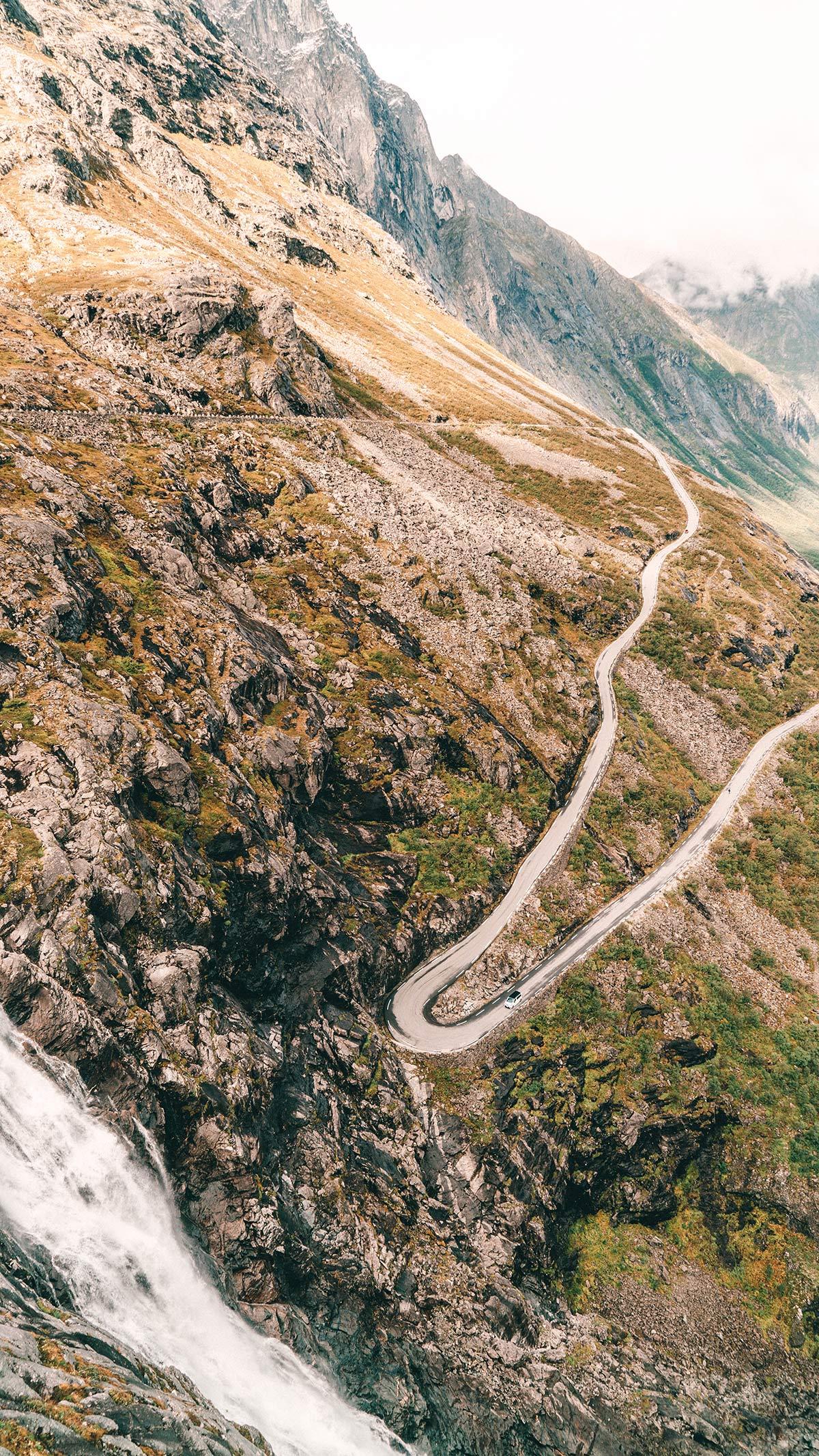 Trollstigen Norwegen