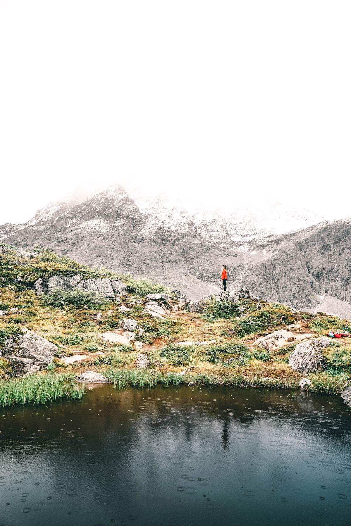 Wanderung Litlefjellet
