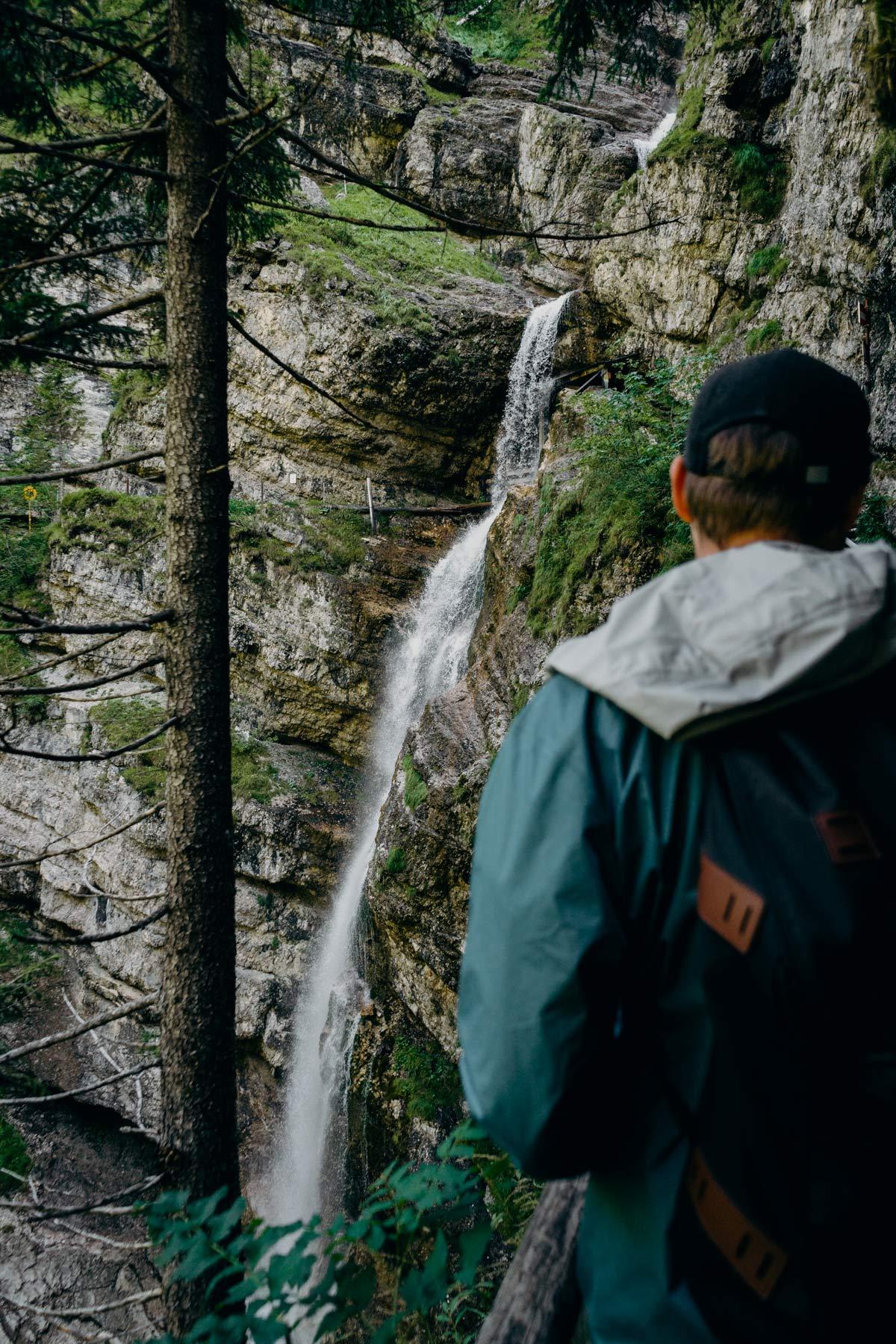 Wasserfall Heutal