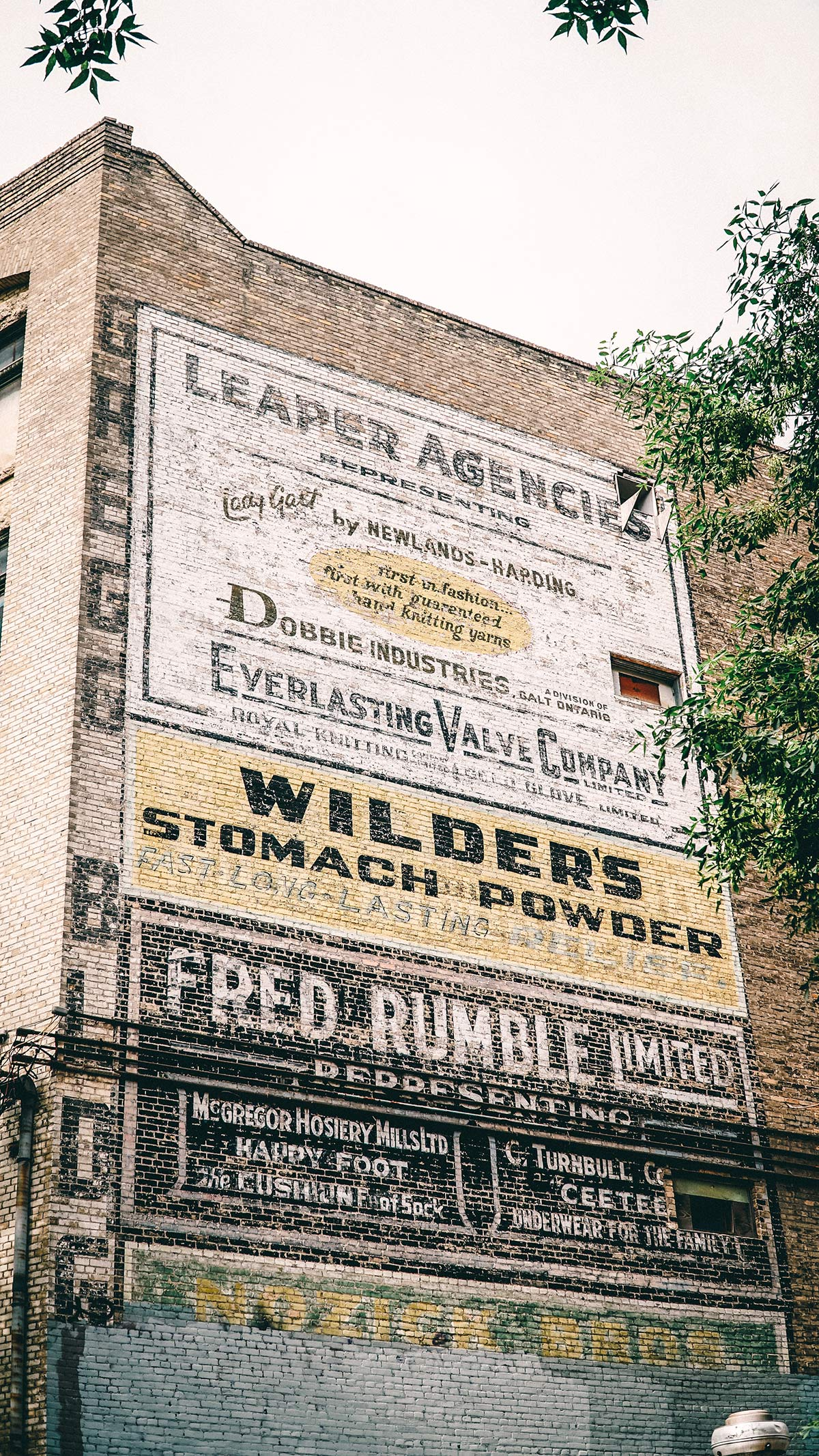 Exchange District Ghost Signs