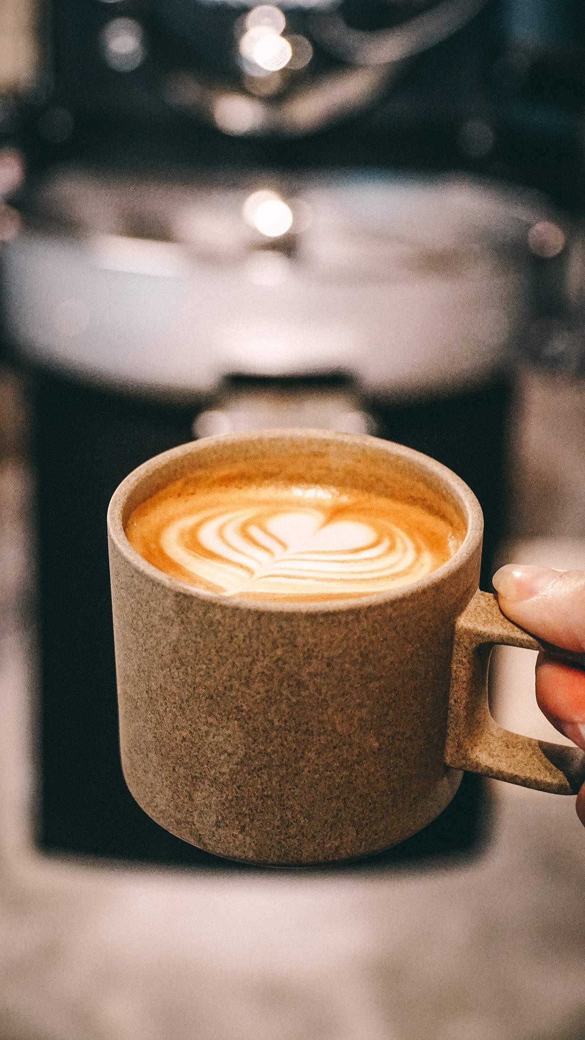 Forth Cafe Tasse Kaffee