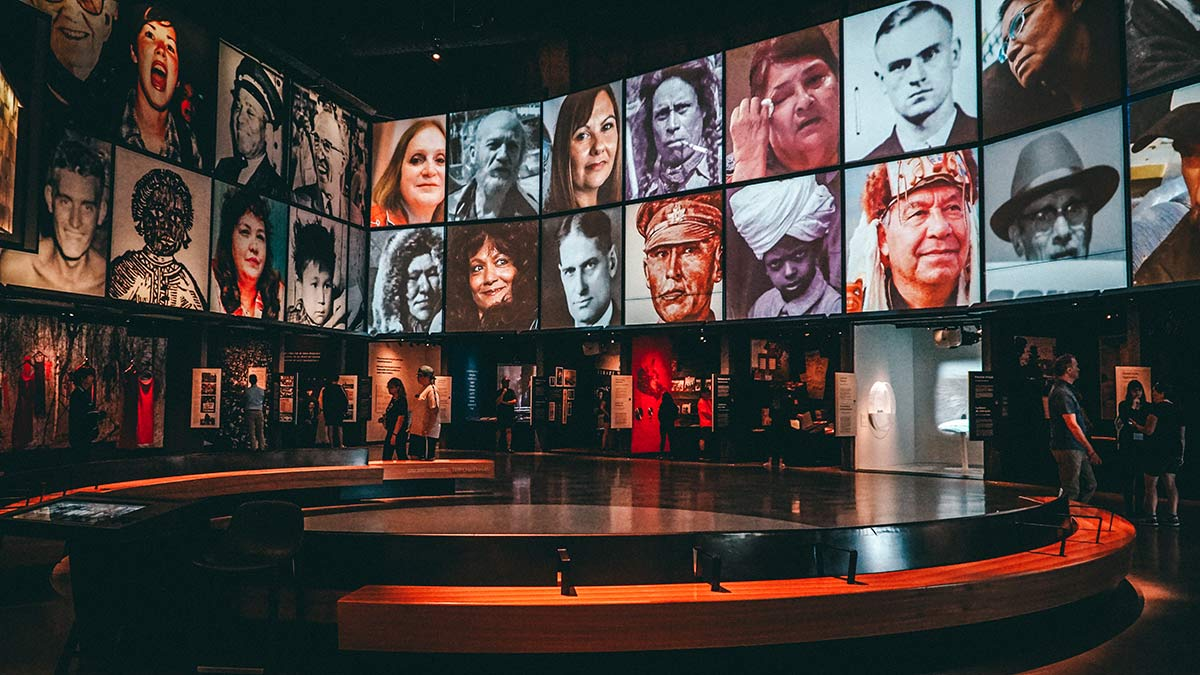 Human Rights Museum Innen