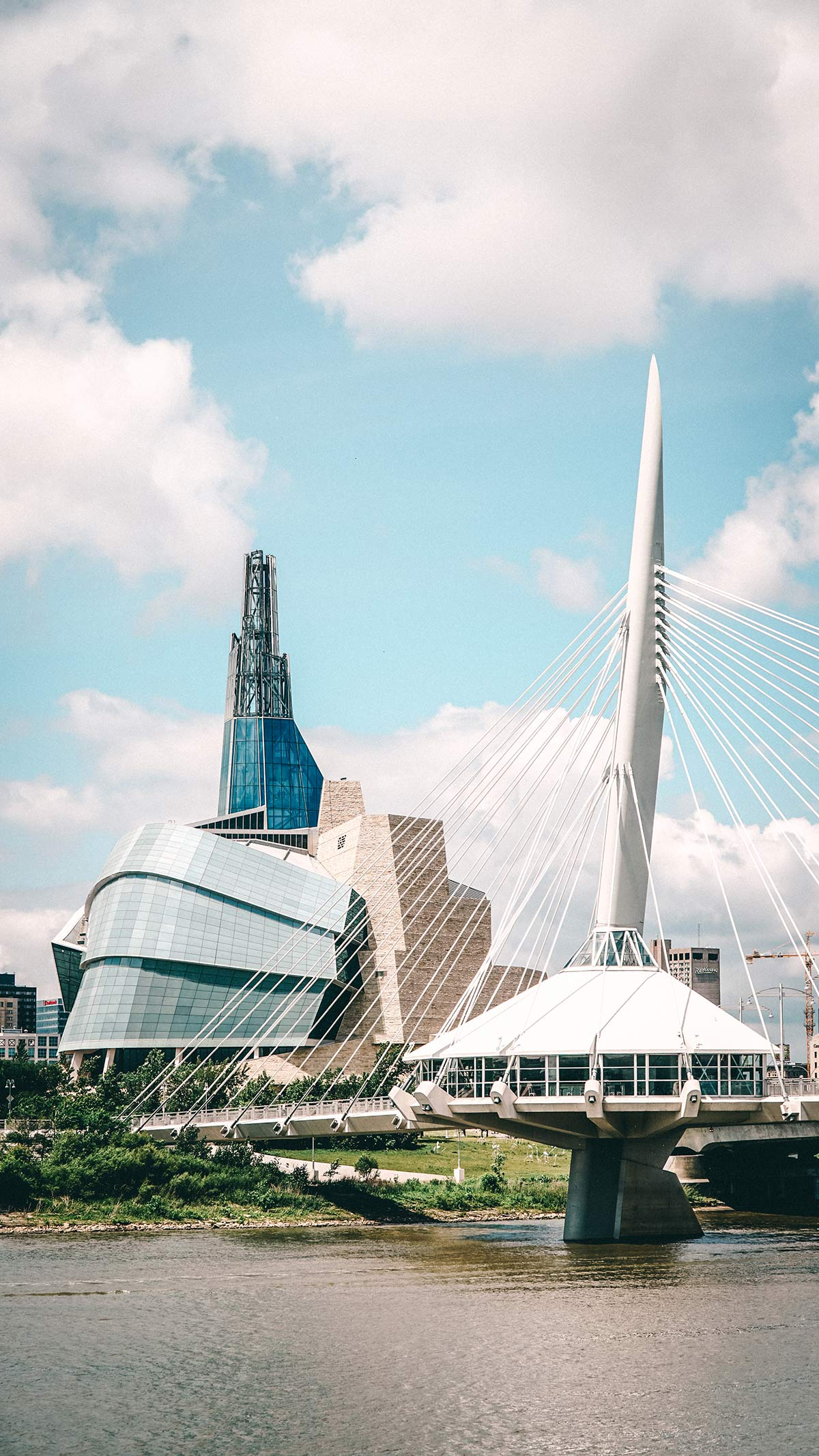 Human Rights Museum Provencher Bridge