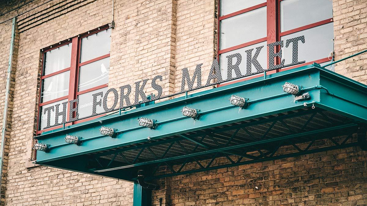 The Forks Market Aussen