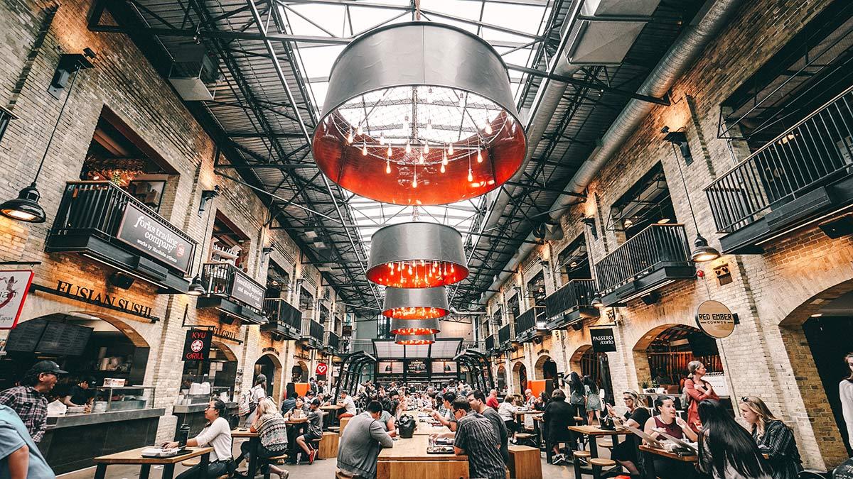 The Forks Market Innen
