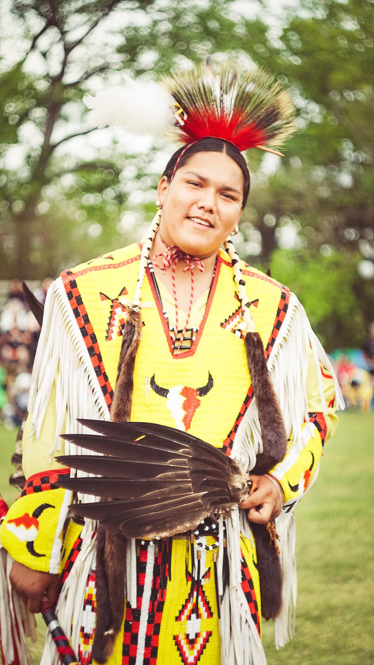 Winnipeg Indigenous Junge