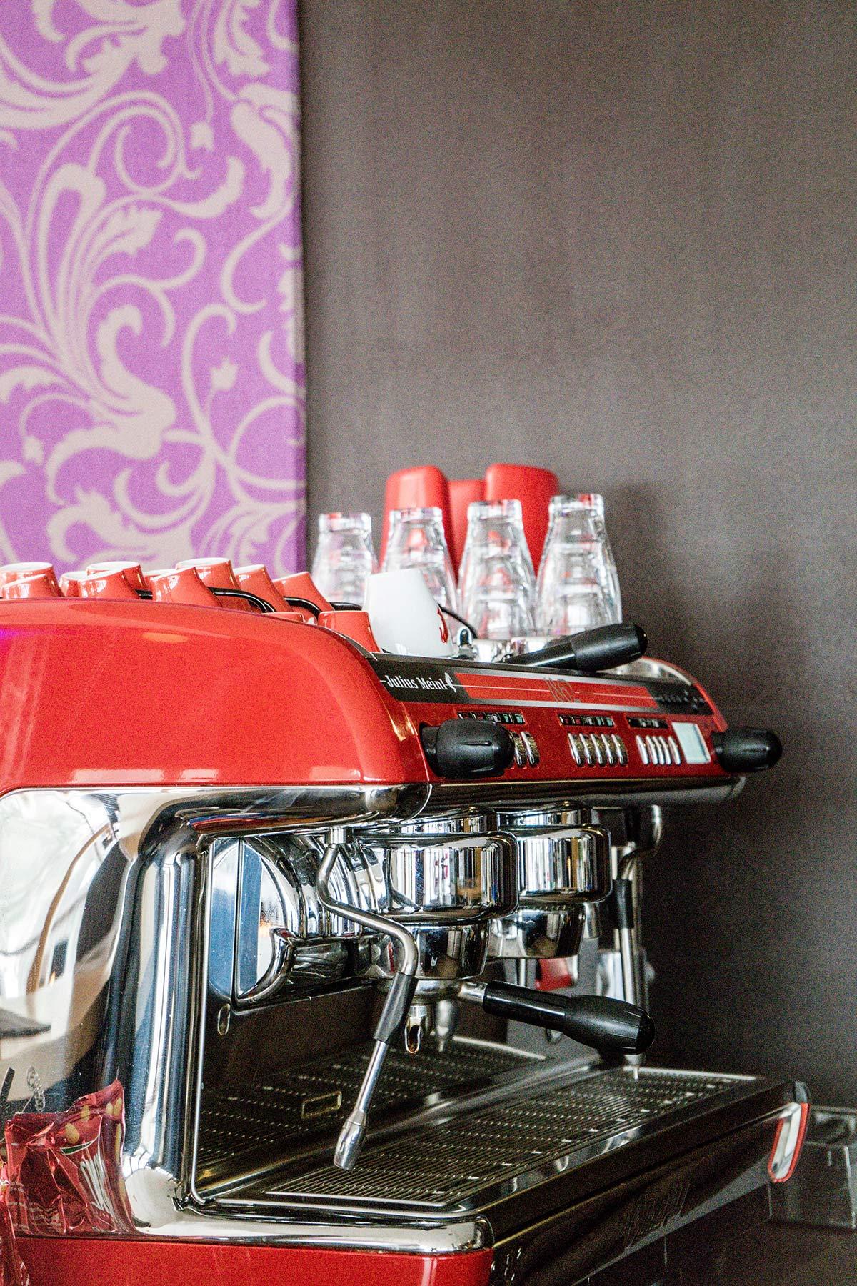 oesterreich tirol achensee hotel das kronthaler kaffeemaschine