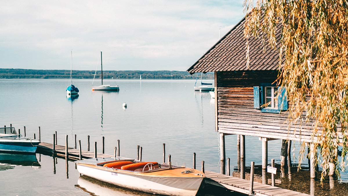 Ammersee Bootshaus