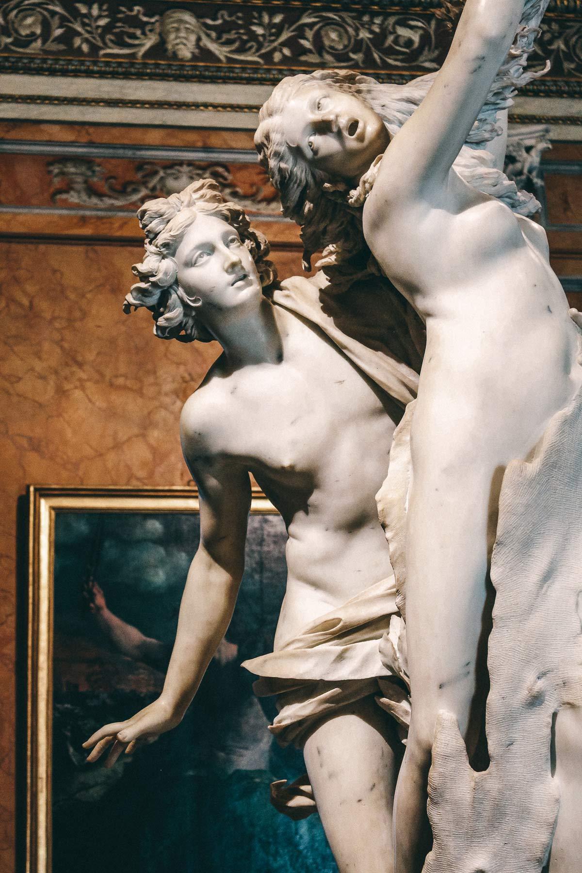 Apoll Daphne galleria borghese