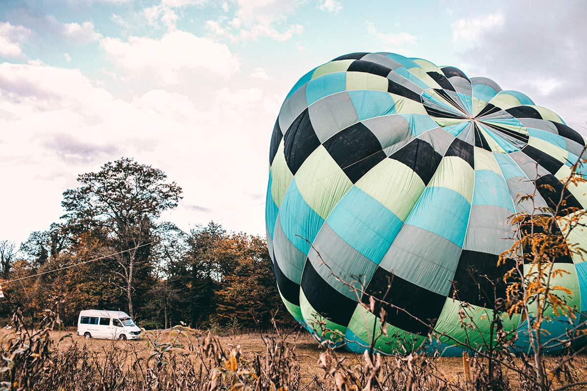 ballon fahren georgien