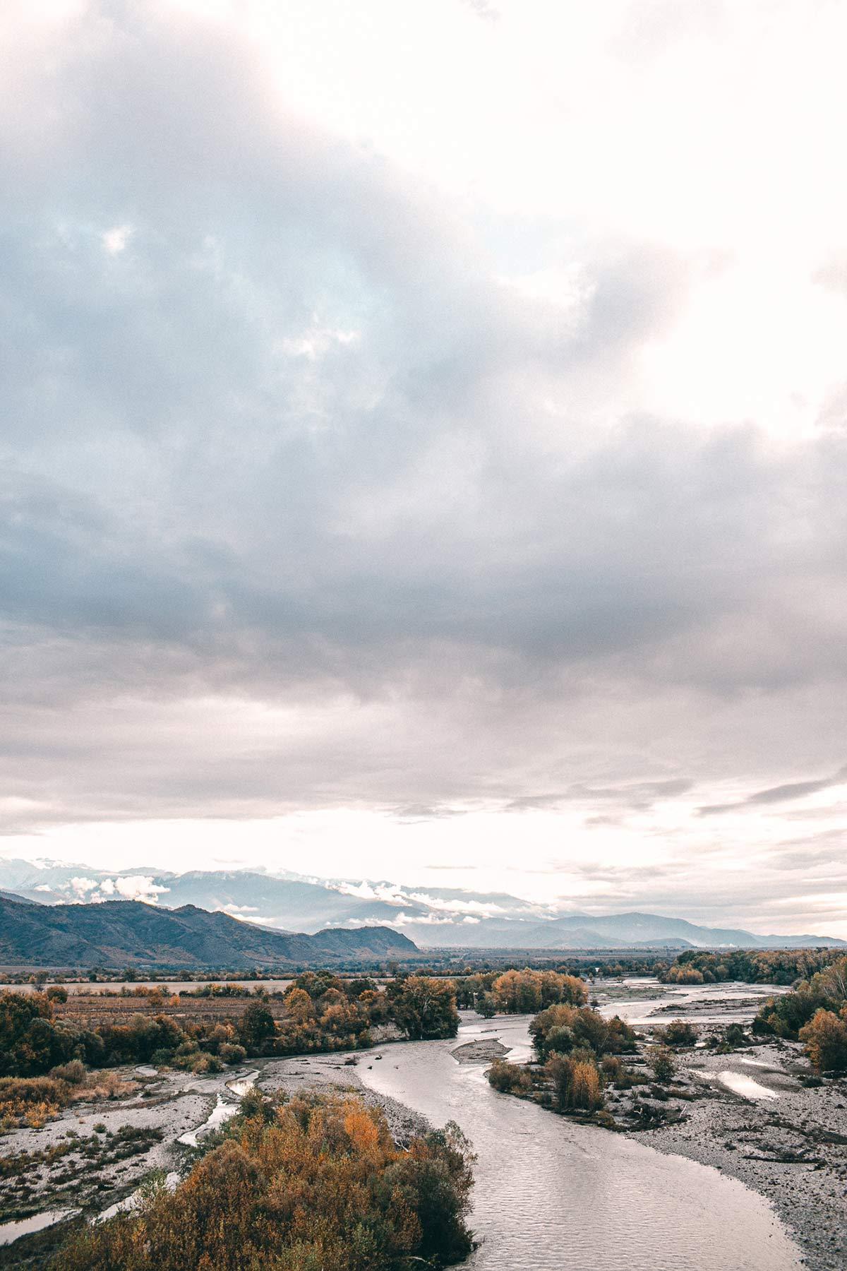 landschaft georgien