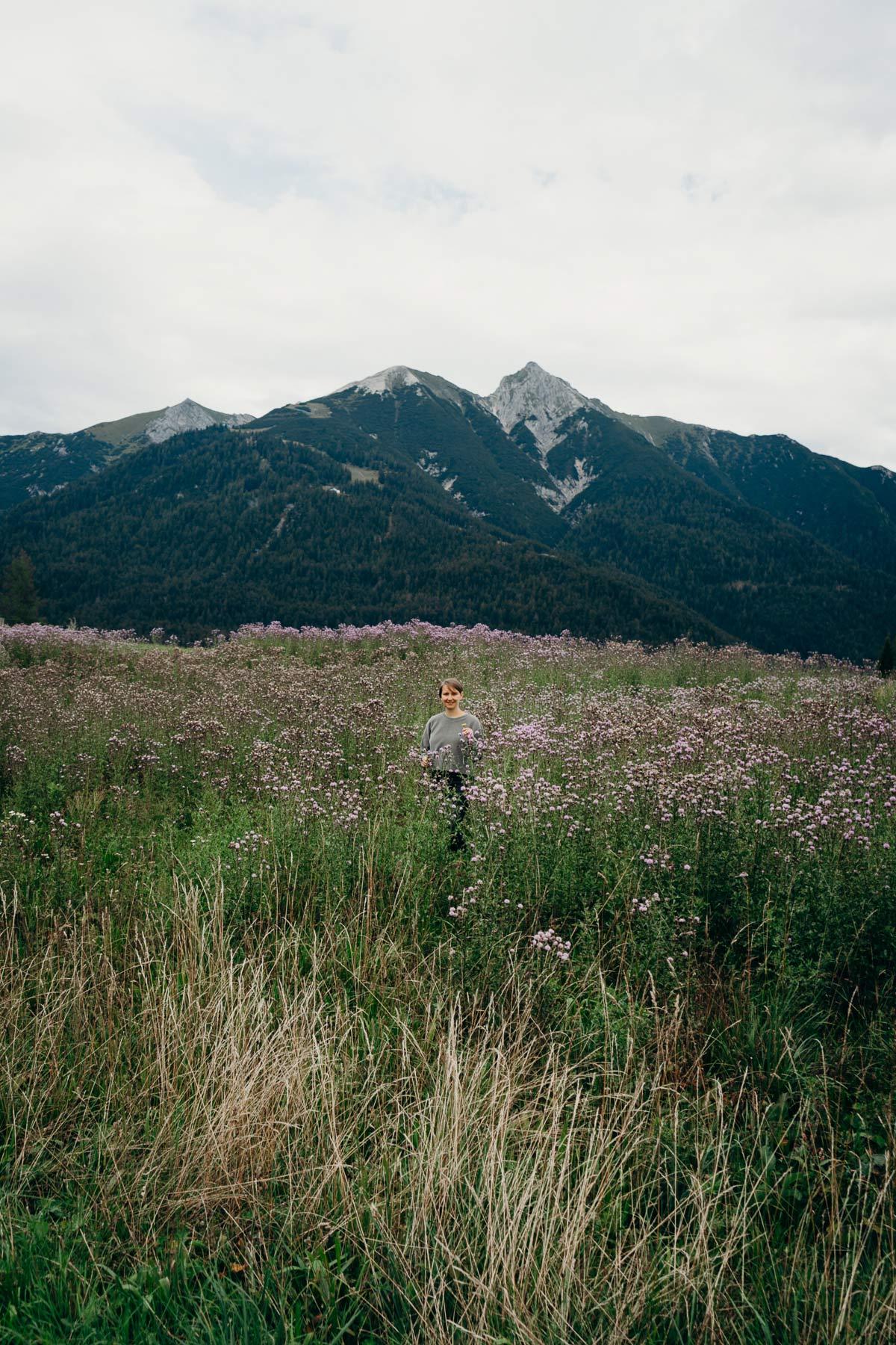 Pia Winter Bergwelt Wiese