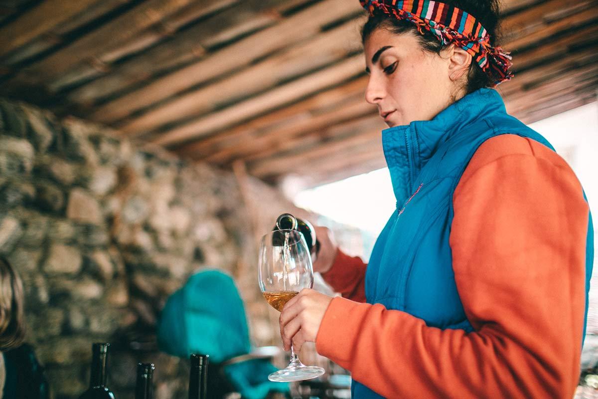 Wein Tasting Georgien