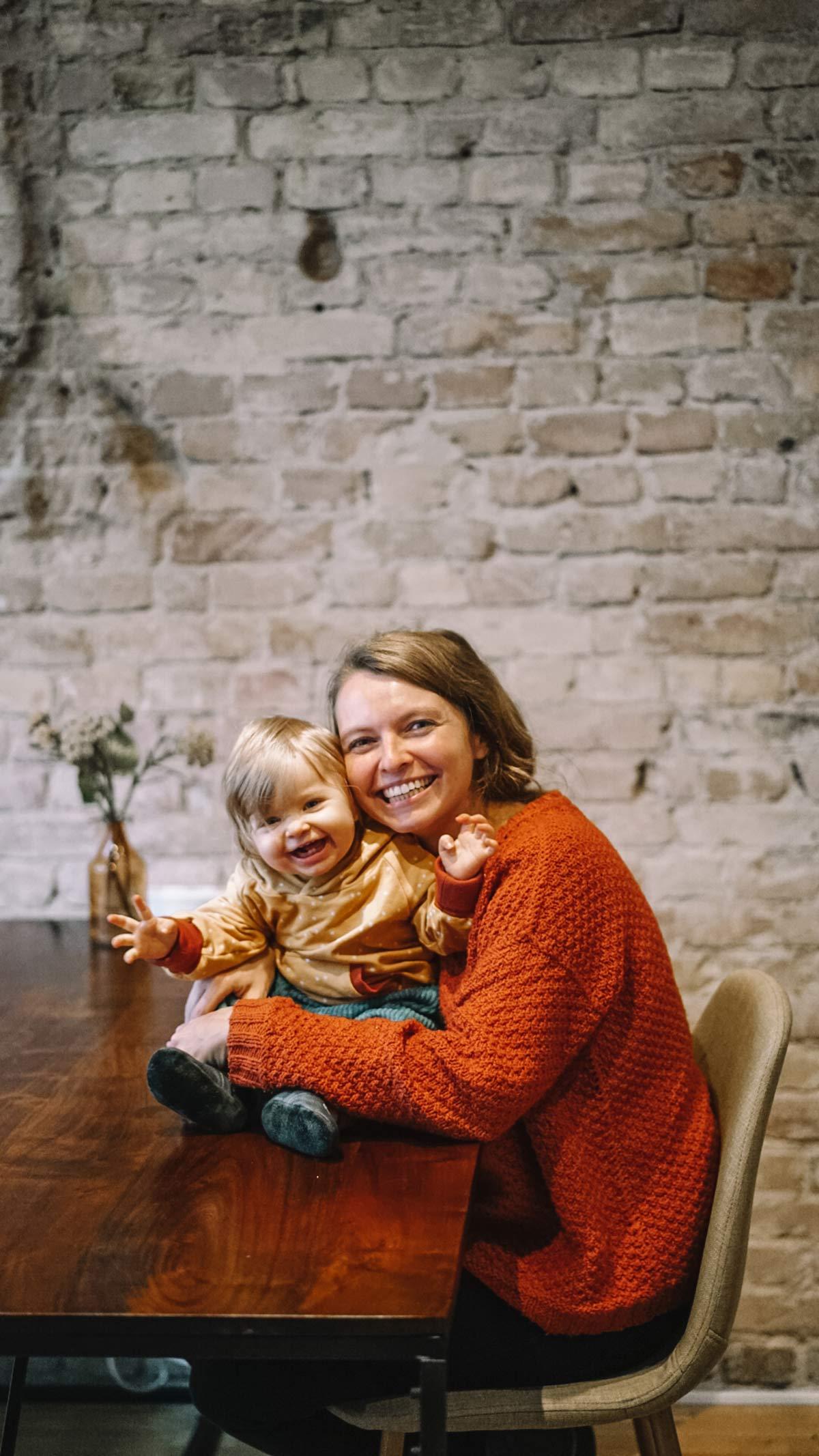 Christine Neder und Alma