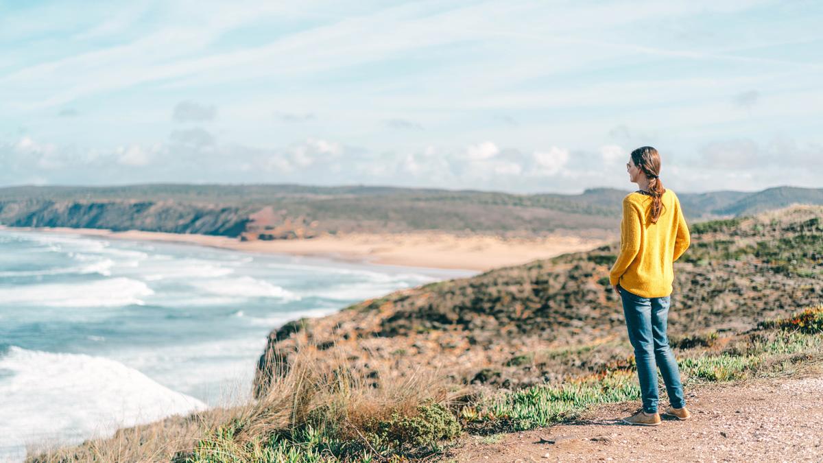 Praia da Bordeira Aussicht