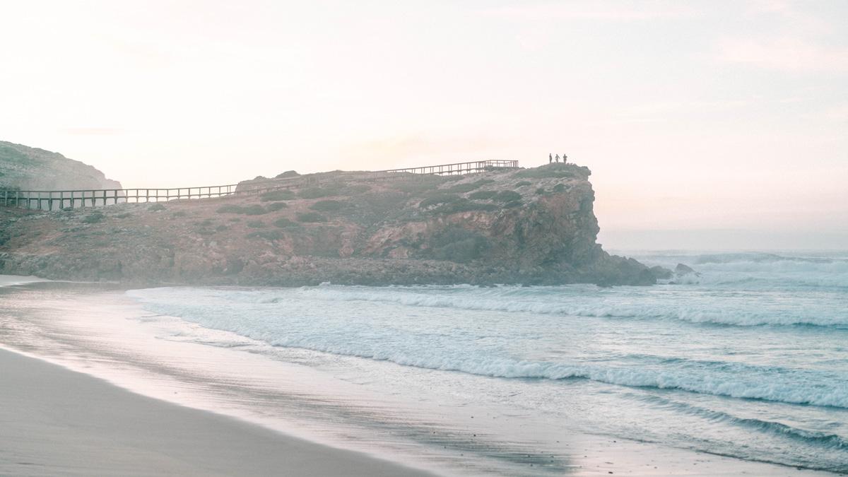 Praia da Bordeira Aussichtspunkt