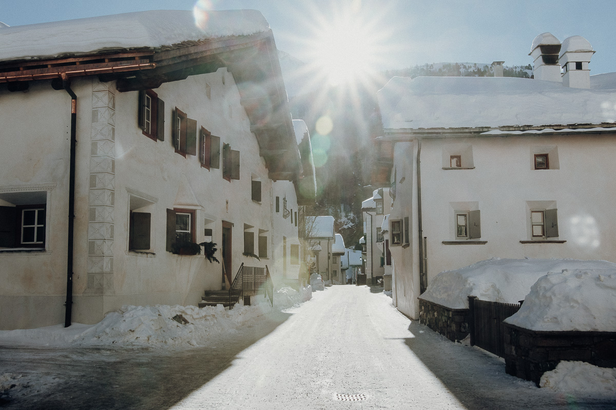 Dorf St. Moritz