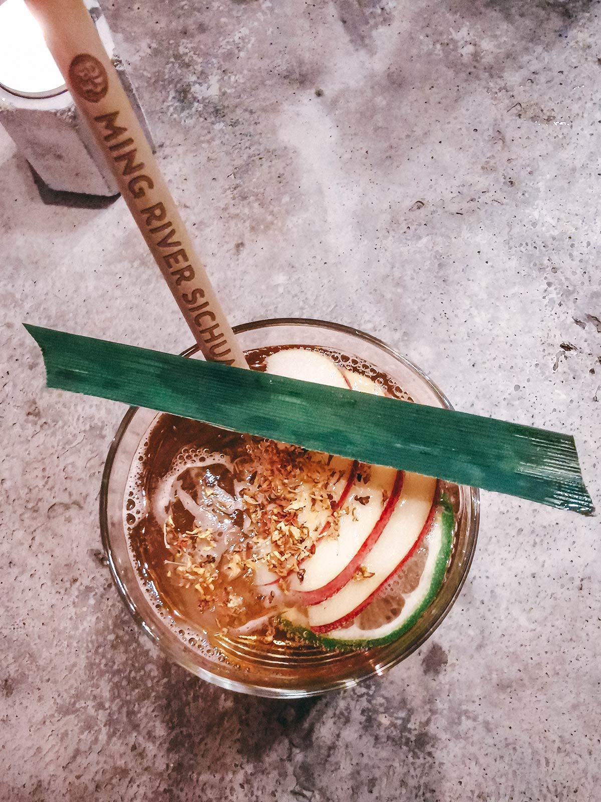 kong restaurant drink