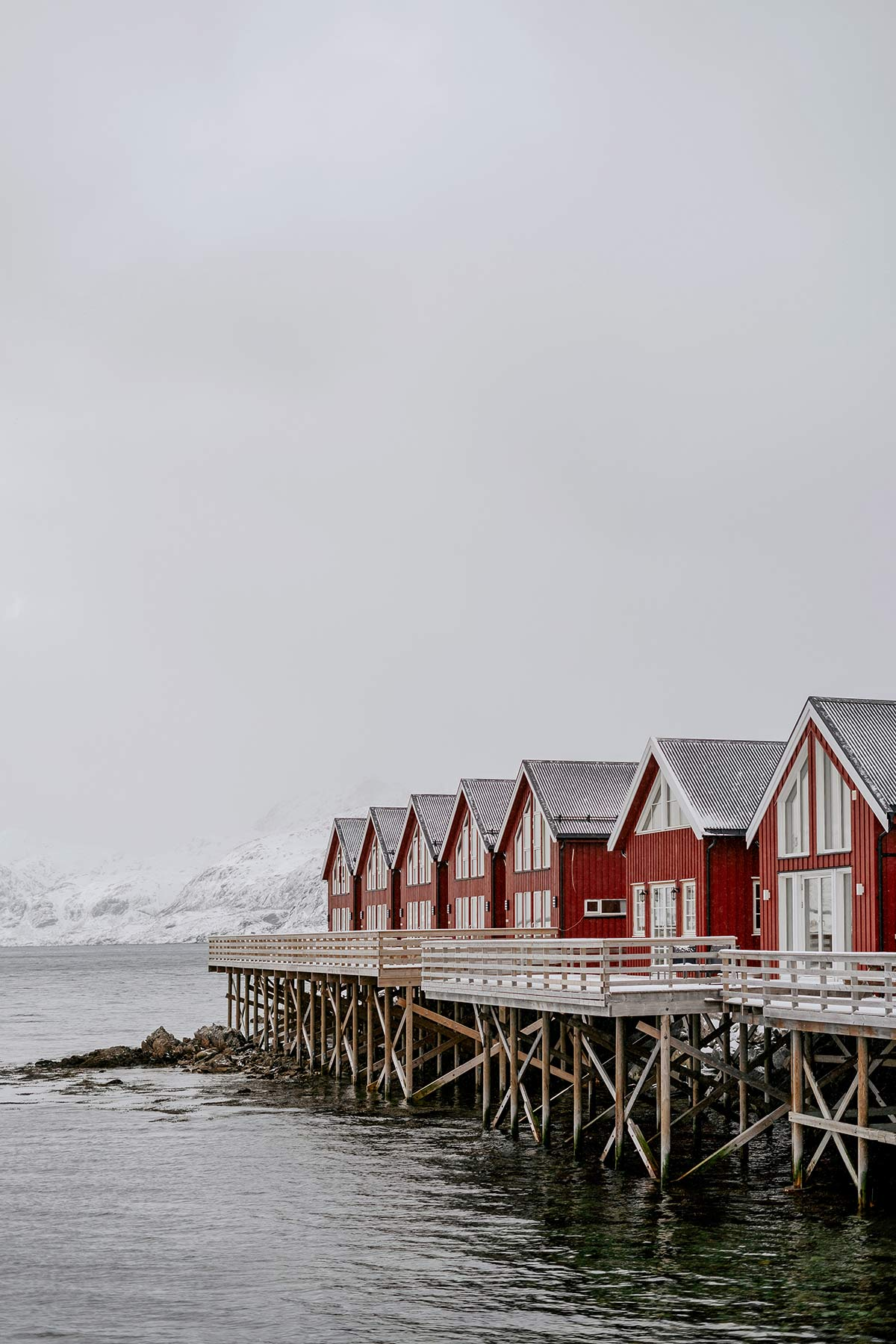 Huetten Lofoten Basecamp Norwegen