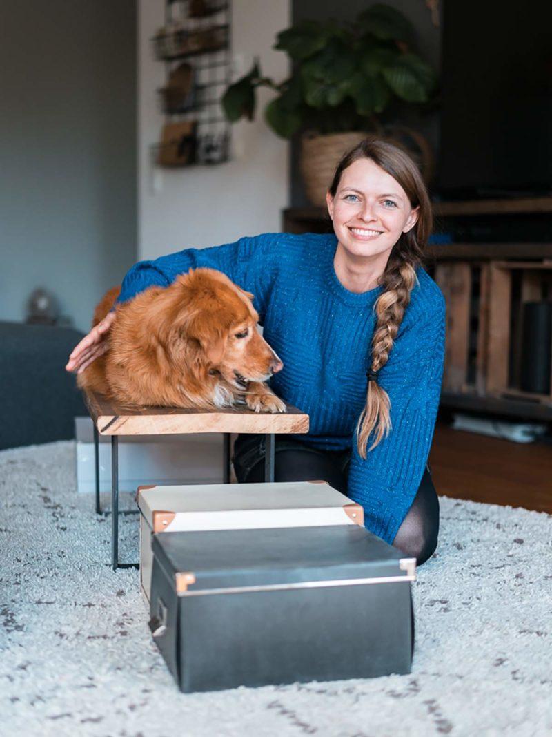 Hundebeschaeftigung zu Hause